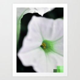 Square Pearl [emerald] Art Print