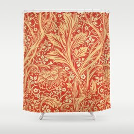12,000pixel-500dpi - William Morris - Arcadia - Digital Remastered Edition Shower Curtain
