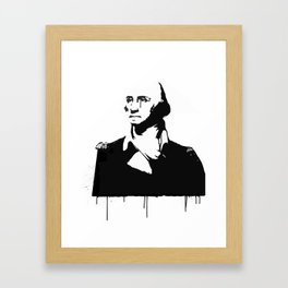 George Washingtear Framed Art Print