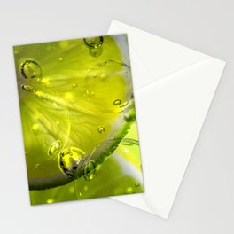 Slice of Lime Stationery Cards