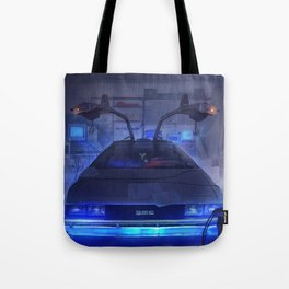 Building the time machine Tote Bag