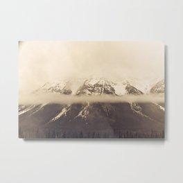 mt. lawson, kananaskis country, alberta Metal Print