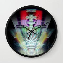 Abandoned Signal [series: Glitch Re:Work] Wall Clock