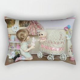 ** Little girl's room ** Rectangular Pillow