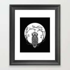 SPECTAC-OWL Framed Art Print