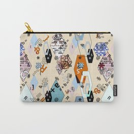 Children's , school . Collage. Carry-All Pouch