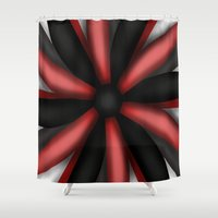 passion Shower Curtains featuring Passion by ShaylahLeigh