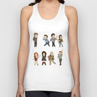 dance Tank Tops featuring Dance by kendrawcandraw