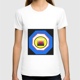 All the ways go to the center T-shirt