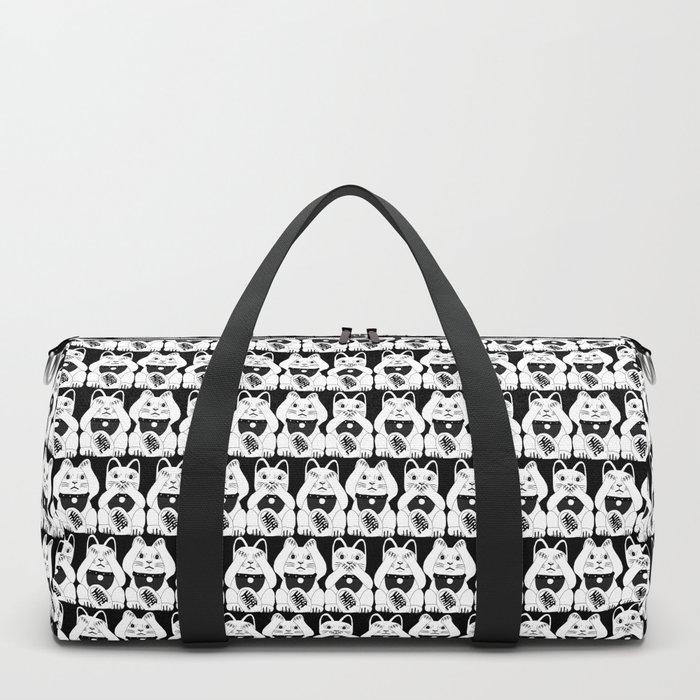 Three Smart Cats Duffle Bag