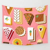napoleon Wall Tapestries featuring Sugar Overload by Fair Skies Design