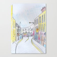 Galway's West end. Canvas Print