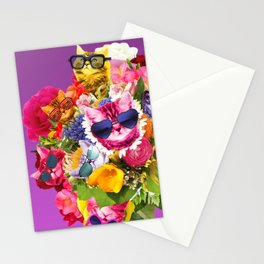 Cat Bouquet Stationery Cards