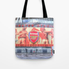 Arsenal FC Emirates Stadium London Tote Bag
