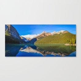 Lake Louise panorama, Canada. Canvas Print
