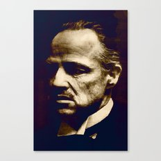 Godfather - I will make him an offer he can't refuse Canvas Print