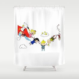 Peanuts Gang Shower Curtain