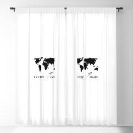 Adventure Map II Blackout Curtain