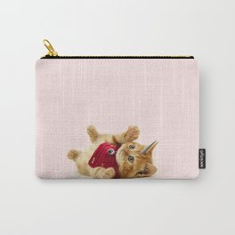 Unicorn Cat Carry-All Pouch