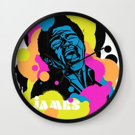 Soul Activism :: James Brown Wall Clock