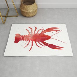 Red Lobster Rug