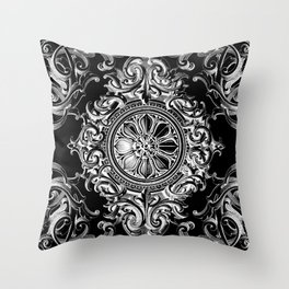 Baroque e Dokie Throw Pillow