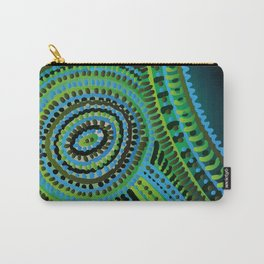 turquoise circus Carry-All Pouch