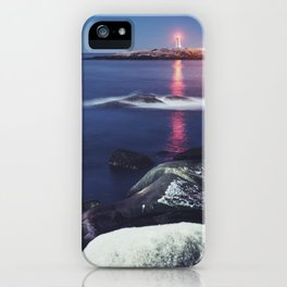 Atlantic Moonlight iPhone Case