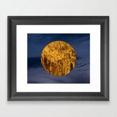 Little Planet #04 Framed Art Print
