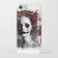 harley quinn iPhone & iPod Cases featuring Harley Quinn by ururuty