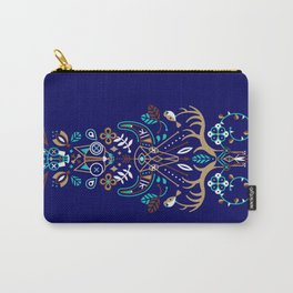 La Vie & La Mort – Navy Carry-All Pouch