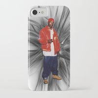 2pac iPhone & iPod Cases featuring Big L  by Gold Blood
