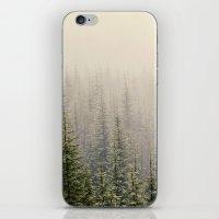 mountain iPhone & iPod Skins featuring Mountain Haze by Kurt Rahn