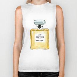 Yellow Parfum Biker Tank