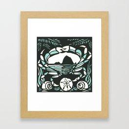 Astrology Northwest: Cancer Framed Art Print