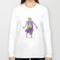 the joker Long Sleeve T-shirts featuring Joker  by Bastonmag