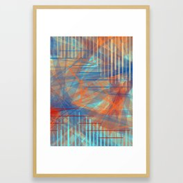 An Autumn Night Framed Art Print