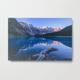 Moraine Lake, Banff National Park Metal Print