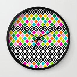DIAMOND - White Wall Clock