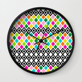 DIAMOND - White Wall Clock