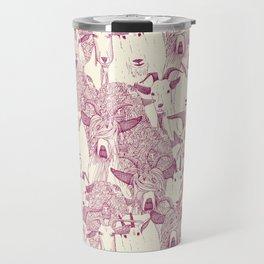 just goats cherry pearl Travel Mug