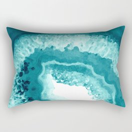 Agate Watercolor 1 Rectangular Pillow