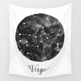 Virgo Constellation Wall Tapestry