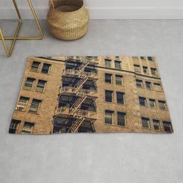 1924 Gaylord Apartments Vintage Neon Sign  Rug