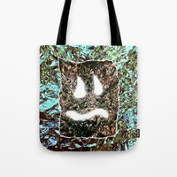 heavy metal Tote Bags featuring Heavy Metal by cahill wessel