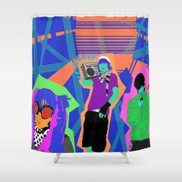 Urban Beat Shower Curtain