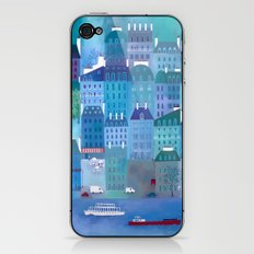 Paris Blues iPhone & iPod Skin