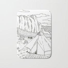 Yurt Dreams Bath Mat
