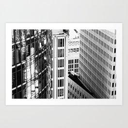 Berlin - Back & White Art Print