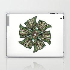 woman with sari mandala Laptop & iPad Skin